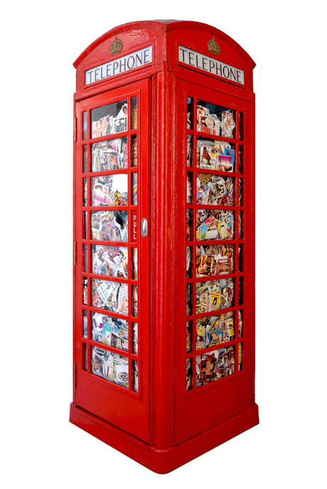 Ben_Long_red_phonebox_phonebooth_tart_card_pornography_poubelle_de_jour_damien_hirst_arman_prostitute_prostitution_uk_london_belle de Jour_telephone_call girl