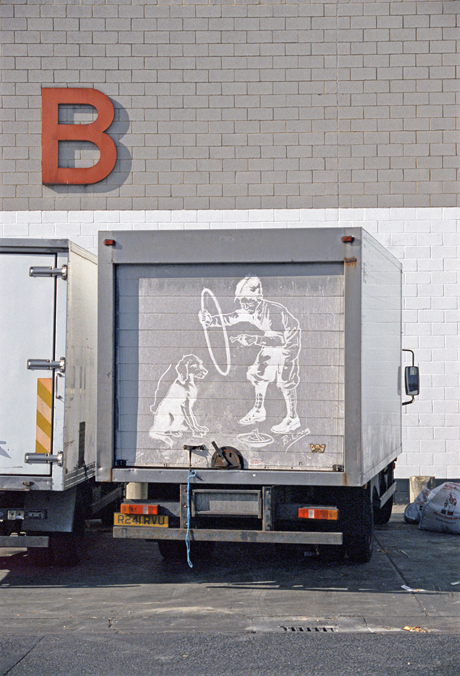 Ben_Long_The_Great_Travelling_Art_Exhibition_BoyDog_Truck_Drawing